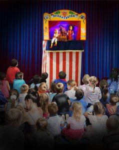 Barnas lørdag - dukketeater
