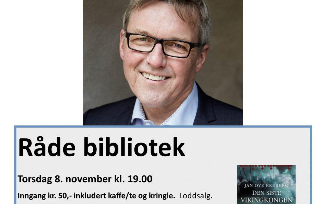 Jan Ove Ekeberg forteller om «Den siste vikingkongen»